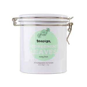teapigs Peppermint Leaves - herbata 20 piramidek puszka