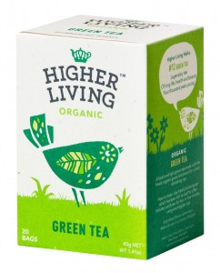 Higher Living Green Tea - herbata 20 saszetek
