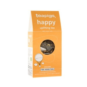 teapigs Happy Uplifting Tea- herbata 15 piramidek