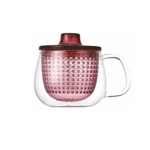 Kinto Unimug Red - szklanka 350 ml