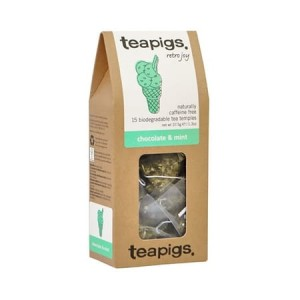 teapigs Chocolate & Mint - herbata 15 piramidek