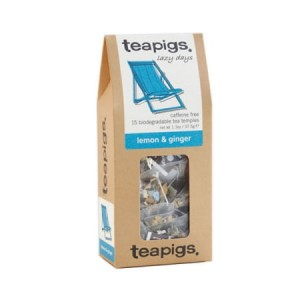 teapigs Lemon & Ginger - 15 piramidek